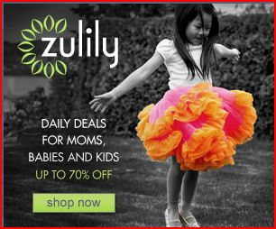 Zulily is a bookmark MUST