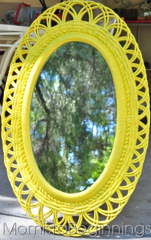 Anything BUT mellow, yellow mirror