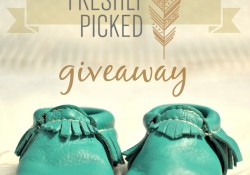 Freshly Picked Moccasins! {Review + Giveaway}