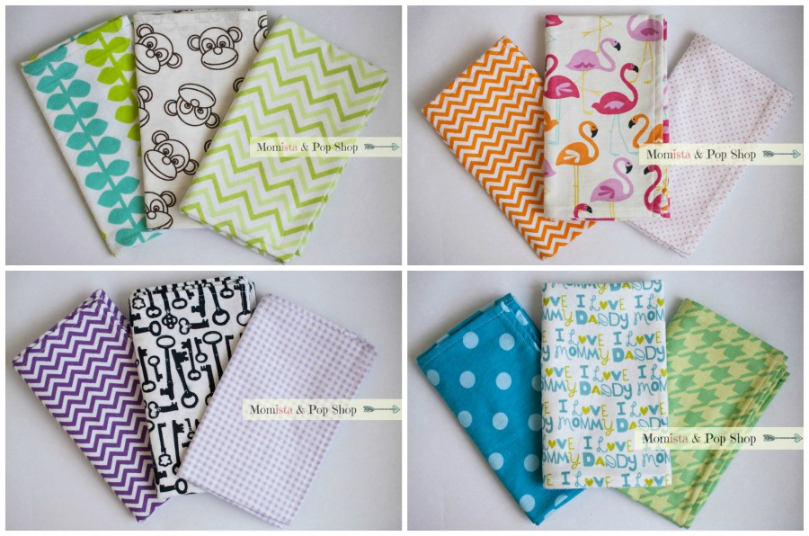 burp cloth Collage