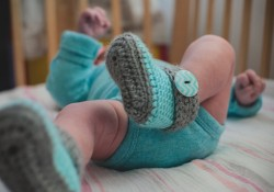 Crocheted Booties Giveaway (Etsy Shop Spotlight)