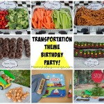 transportation party Collage